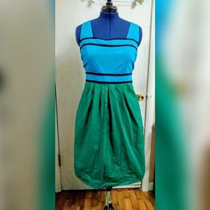 Eloquii colorblock dress